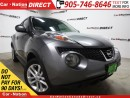 Used 2013 Nissan Juke SL| WE WANT YOUR TRADE| OPEN SUNDAYS| for sale in Burlington, ON