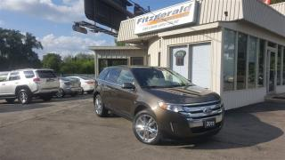 Used 2011 Ford Edge Limited - NAV! BACK-UP CAM! PANO ROOF! for sale in Kitchener, ON