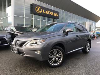 Used 2013 Lexus RX 350 Ultra Premium 1 Pkg/ Blind Spot Sensors for sale in Surrey, BC