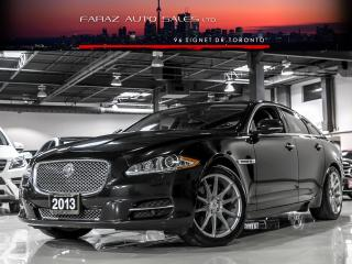 Used 2013 Jaguar XJ AWD|B.SPOT|MASSAGE|NAVI|REAR CAM|FULLY LOADED for sale in North York, ON