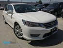 Used 2013 Honda Accord Sedan Touring A/T Local Bluetooth USB AUX Leather Sunroof Navi Line watch Cam Rearview Cam TCS ABS for sale in Port Moody, BC