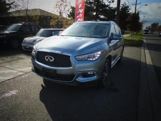 Used 2017 Infiniti QX60 LEATHER , SUNROOF for sale in Scarborough, ON
