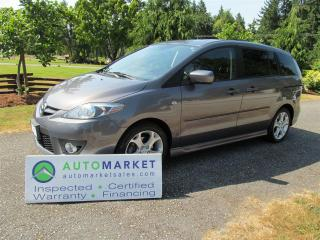 Used 2008 Mazda MAZDA5 GT,  Auto, Moonroof, Insp, Warr for sale in Langley, BC