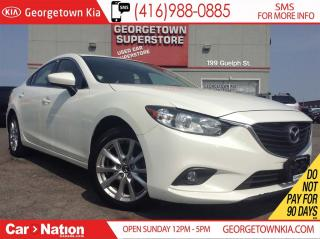 Used 2014 Mazda MAZDA6 GS | SUNROOF | BACK UP CAM | HEATED SEATS | for sale in Georgetown, ON
