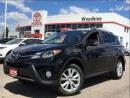 Used 2015 Toyota RAV4 Limited AWD w/ Nav, Backup Cam, Leather, Moonroof for sale in Etobicoke, ON