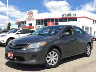 Used 2013 Toyota Corolla CE w/ Power Windows, Keyless, Cruise) for sale in Etobicoke, ON