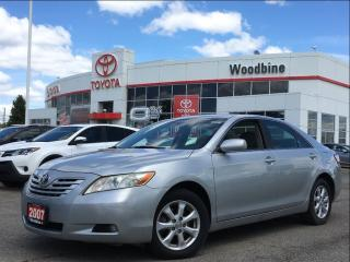 Used 2007 Toyota Camry LE Upgrade w/ Alloy Wheels, Cruise Control for sale in Etobicoke, ON