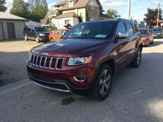 Used 2016 Jeep Grand Cherokee Limited  NAV., LEATHER, ROOF. ***SOLD*** for sale in Belmont, ON