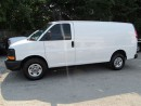 Used 2015 GMC Savana 3/4 ton gas cargo van with shelves for sale in Richmond Hill, ON