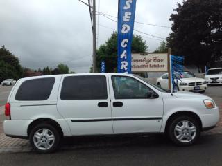 Used 2009 Chevrolet Uplander Cargo Van with Shelving/Cabinets - Financing Avail for sale in Bradford, ON