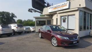 Used 2014 Honda Accord Touring V6 - NAV! BACK-UP CAM! LEATHER! for sale in Kitchener, ON