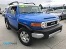 Used 2009 Toyota FJ Cruiser A/T 4WD No Accident Local AUX Rearview Cam Subwoofer Power Lock Power Window TCS ABS for sale in Port Moody, BC