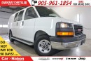 Used 2015 GMC Savana 2500 1WT| 4.8L VORTEC| STABILITRACK| READY FOR THE JOB! for sale in Mississauga, ON