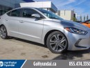 Used 2017 Hyundai Elantra GLS Sunroof Alloys Blind Spot Heated Steering Wheel for sale in Edmonton, AB