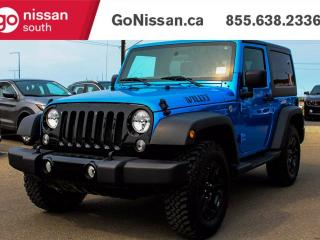 Used 2016 Jeep Wrangler WILLY EDITION, AIR, POWER GROUP!! for sale in Edmonton, AB
