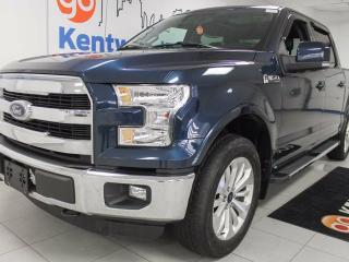 Used 2015 Ford F-150 Lariat 5.0L V8 loaded! NAV, sunroof, leather heated/cooled seats, the whole shebang for sale in Edmonton, AB