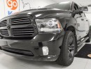 Used 2015 Dodge Ram 1500 Sport 5.7L V8 Hemi, heated/cooled seats, heated steering wheel, back up cam for sale in Edmonton, AB