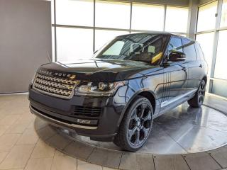 Used 2017 Land Rover Range Rover MSRP $140,902 - Accident Free - One Owner! for sale in Edmonton, AB