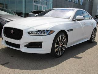 Used 2018 Jaguar XE 25t R-Sport AWD - 4yr/80000kms manufacturer warranty included until October 18, 2021! - Local One Owner Trade In | No Accidents | Navigation Screen | Back Up Camera | Parking Sensors | Rear Sunshade | Lane Keeping Aid/Driver Drowsiness Alert | Reverse Tra for sale in Edmonton, AB