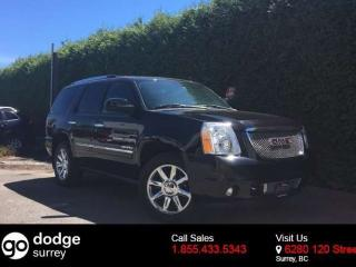 Used 2014 GMC Yukon Denali AWD + NAV + SUNROOF + DVD PLAYER + BACK- UP CAM for sale in Surrey, BC