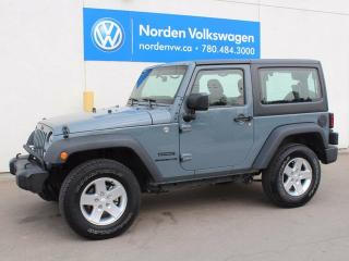 Used 2014 Jeep Wrangler SPORT for sale in Edmonton, AB