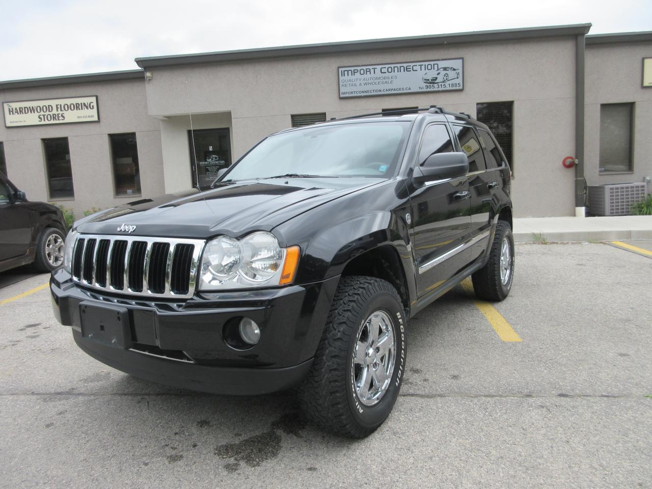2007 Jeep Grand Cherokee Limited,NAV,DVD,BLUETOOTH
