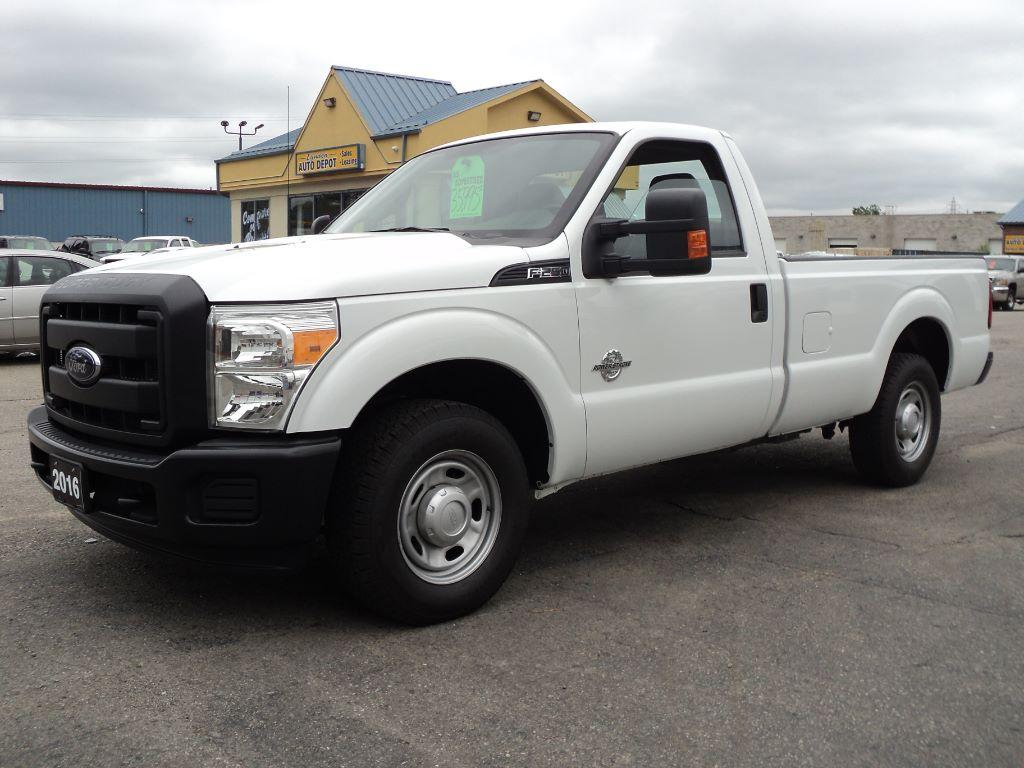 used 2016 ford f 250 xl regcab 4x2 diesel 8ft box for sale in brantford ontario. Black Bedroom Furniture Sets. Home Design Ideas