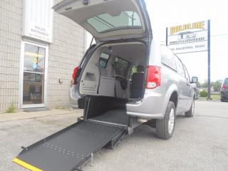 Used 2014 Dodge Grand Caravan SE-Wheelchair Accessible Rear Entry Conversion for sale in London, ON