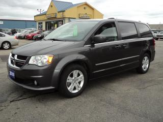 Used 2016 Dodge Grand Caravan Crew Stow-N- Go 3rd Row Seating for sale in Brantford, ON