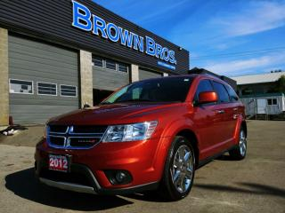Used 2012 Dodge Journey R/T, NAVIGATION, LTHR, MOONROOF for sale in Surrey, BC