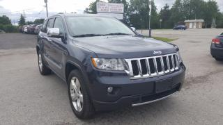 Used 2012 Jeep Cherokee OVERLAND -NAVI-PANORAMIC SUNROOF for sale in Komoka, ON