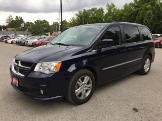 Used 2012 Dodge GRAND CARAVAN CREW * SAT RADIO SYSTEM * POWER GROUP for sale in London, ON