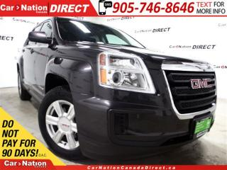 Used 2016 GMC Terrain SLE-1| AWD| BACK UP CAMEA| OPEN SUNDAYS| for sale in Burlington, ON