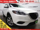 Used 2014 Mazda CX-9 GS| AWD| LEATHER| SUNROOF| BACK UP CAM| for sale in Burlington, ON
