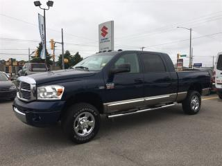 Used 2009 Dodge Ram 2500 Laramie 4X4 Mega Cab ~Chrome Side Steps for sale in Barrie, ON