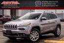 Used 2016 Jeep Cherokee Limited|4X4|PanoSunroof|Nav.|LthrSeats|R-Start|18