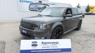 Used 2016 Ford Flex SEL, AWD, Sport Pkg, NAV, Moonroof for sale in Stratford, ON