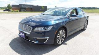 Used 2017 Lincoln MKZ Reserve Hybrid, Leather, Moon for sale in Stratford, ON