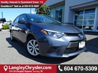 Used 2014 Toyota Corolla LE *ACCIDENT FREE*ONE OWNER*LOCAL BC CAR* for sale in Surrey, BC