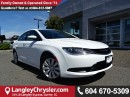 Used 2016 Chrysler 200 LX for sale in Surrey, BC