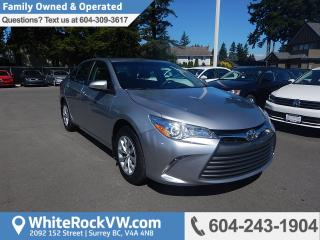 Used 2017 Toyota Camry LE Remote Keyless Entry, A/C & Cruise Control for sale in Surrey, BC