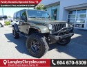 Used 2016 Jeep Wrangler Unlimited Sahara W/NAVIGATION & LEATHER UPHOLSTERY for sale in Surrey, BC