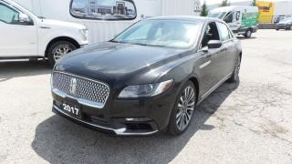 New 2017 Lincoln Continental Reserve for sale in Stratford, ON