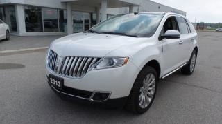 Used 2013 Lincoln MKX AWD, Leather, Navi, LOADED for sale in Stratford, ON