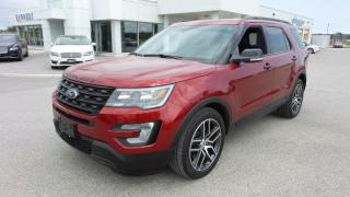 Used 2017 Ford Explorer Sport, 3.5l Ecoboost 365Hp, LOADED for sale in Stratford, ON