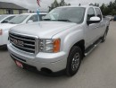 Used 2012 GMC Sierra 1500 READY TO WORK SLE MODEL 6 PASSENGER 4.8L - VORTEC.. 4X4.. CREW.. SHORTY.. CD/AUX INPUT.. KEYLESS ENTRY.. for sale in Bradford, ON