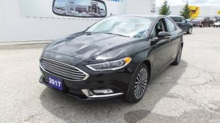 Used 2017 Ford Fusion SE AWD 2.0l Eco, Moon, Navi for sale in Stratford, ON