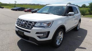 New 2017 Ford Explorer LIMITED for sale in Stratford, ON