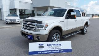 Used 2013 Ford F-150 Lariat 3.5l Ecoboost 4x4 LOADED for sale in Stratford, ON