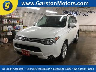 Used 2014 Mitsubishi Outlander GT*4WD*LEATHER*POWER SUNROOF*7 PASSENGER*S-AWC*ROCKFORD FOSGATE AUDIO w/SUBWOOFER*BACK UP CAMERA*PHONE CONNECT*HEATED FRONT SEATS* for sale in Cambridge, ON